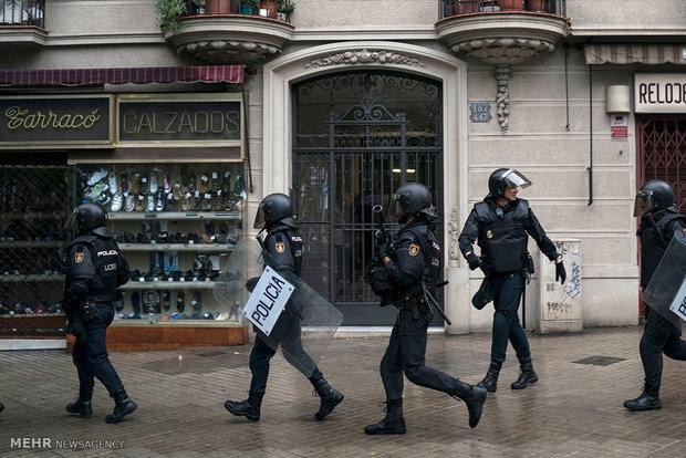 حمله به پاسگاه پلیس در اسپانیا ناکام ماند