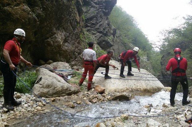 2 کوهنورد مفقود گردیده در باران کوه به گرگان منتقل شدند