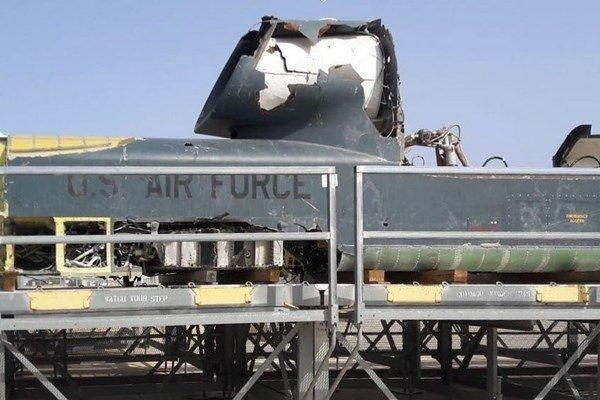 پهپاد پیشرفته آرکیو 4 گلوبال هاوک آمریکا در اسپانیا سقوط کرد