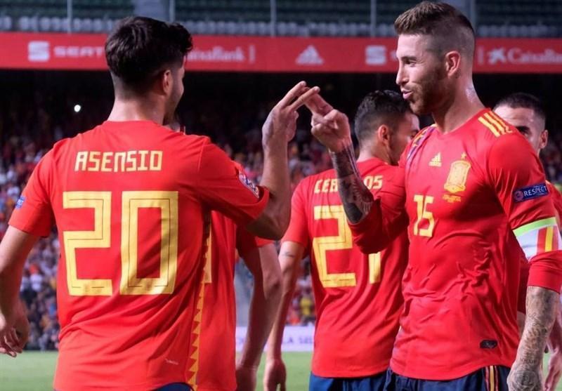 لیگ ملت های اروپا، اسپانیا با 6 گل نایب قهرمان جهان را تحقیر کرد