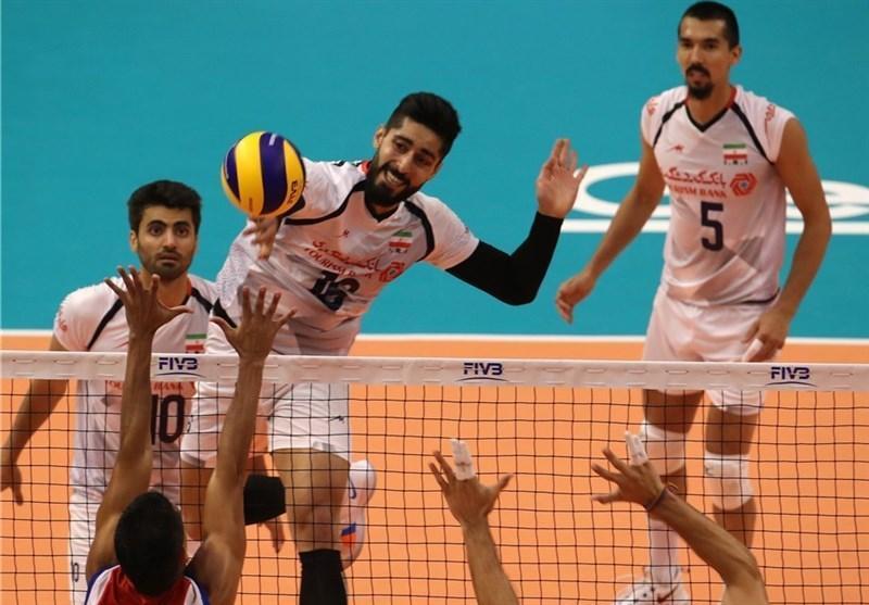 تیم ملی والیبال ایران در صدر جدول در بلغارستان