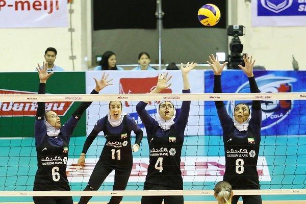 تیم ملی والیبال بانوان از صعود به مرحله نیمه نهایی بازماند