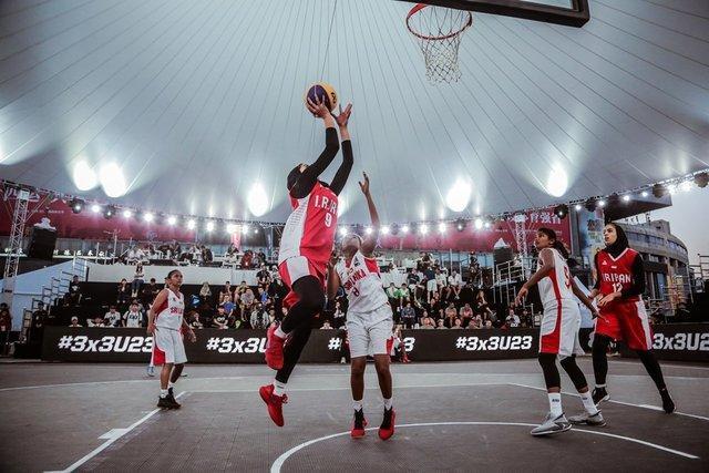 المپیک جوانان آرژانتین - شکست تیم بسکتبال سه نفره دختران مقابل آلمان