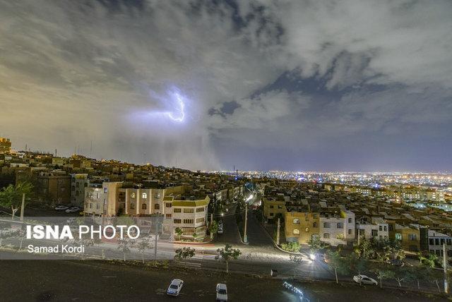 احتمال رگبار و رعد و برق در تهران و 8 استان دیگر، کاهش دما در شهرهای شمالی