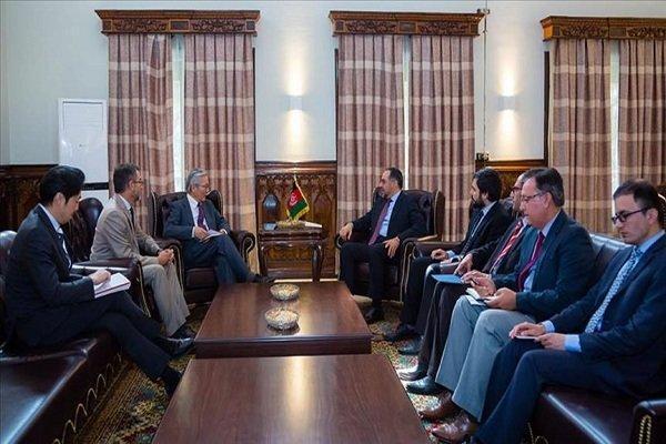 وزیر خارجه افغانستان با نماینده ویژه سازمان ملل دیدار کرد