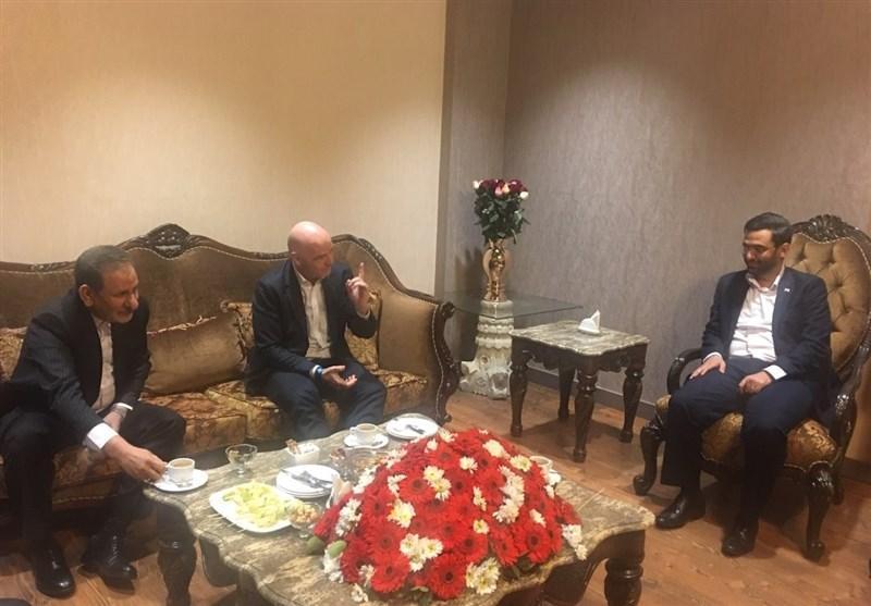 حاشیه بازی پرسپولیس - کاشیما آنتلرز، جلسه جهانگیری و اینفانتینو بین دو نیمه