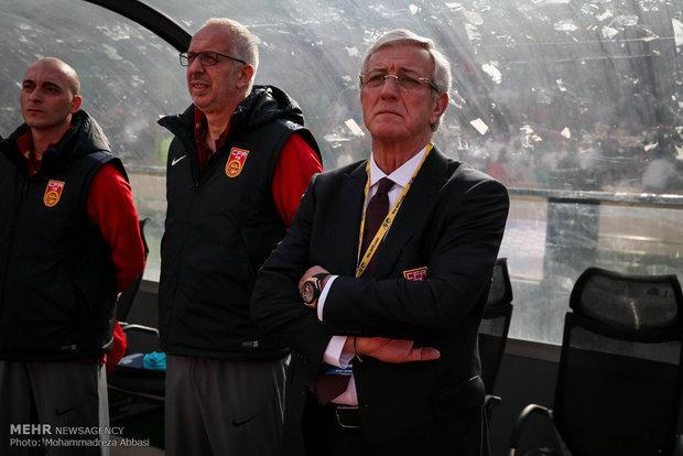 تاکید مارچلو لیپی بر مسائل روانی بازیکنان چین مقابل ایران