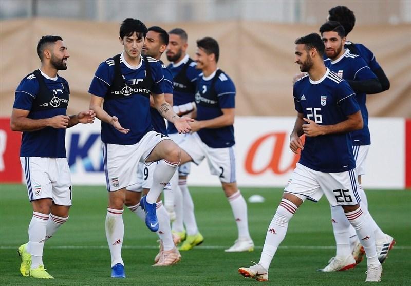 گزارش خبرنگار اعزامی خبرنگاران از امارات، پیش بینی تاج از نتیجه بازی فردای ایران و توطئه خبرنگار چینی