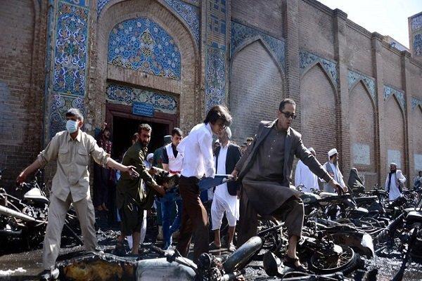 انفجار در مسجدی در افغانستان 45 کشته و زخمی برجا گذاشت