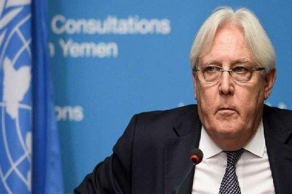 گریفیتس: گفتگوهای یمن از فردا در سوئد شروع می گردد