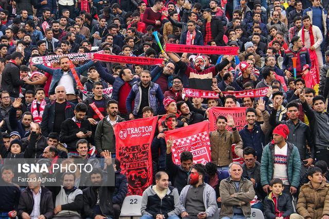 حاشیه های بازی تراکتورسازی - فولاد، تشویق 70 هزار نفری کاشیما در تبریز!