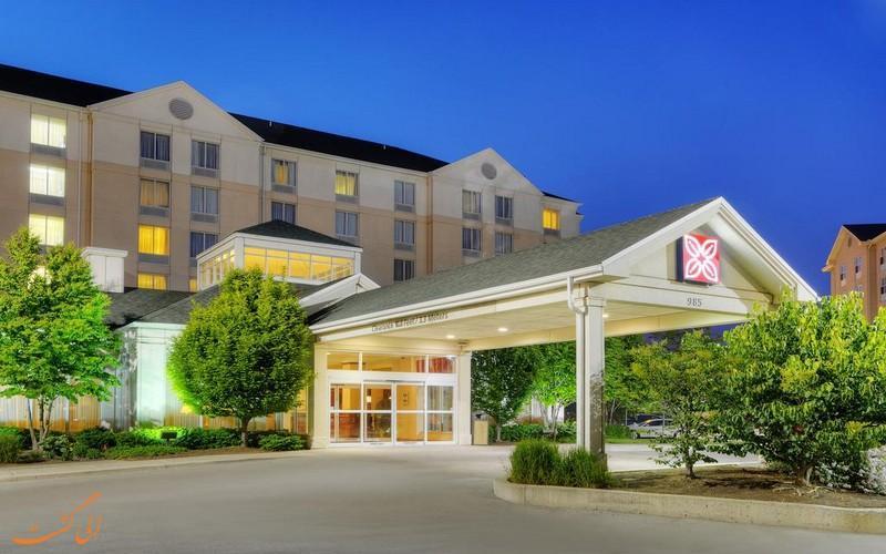 معرفی هتل 4 ستاره هیلتون گاردن این تورنتو کانادا