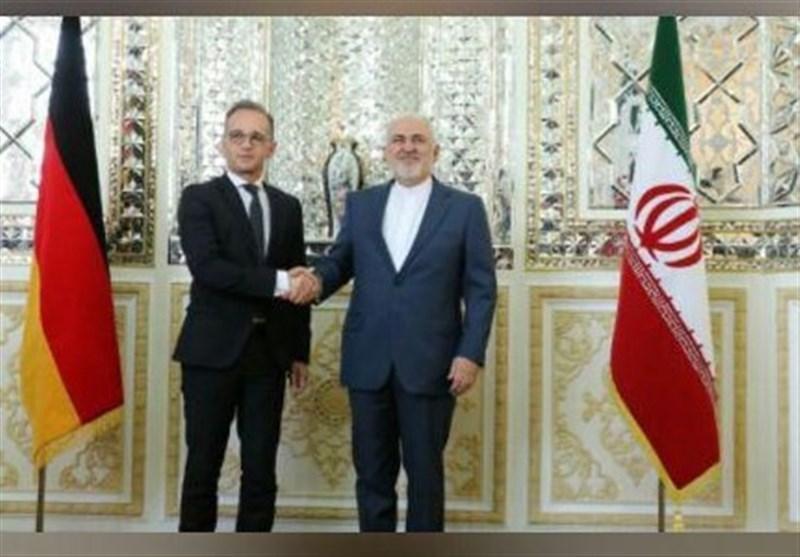دیدار وزیر خارجه آلمان با ظریف در تهران