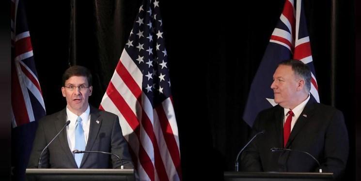وزیر دفاع آمریکا رفتارهای چین را ثبات زدا خواند