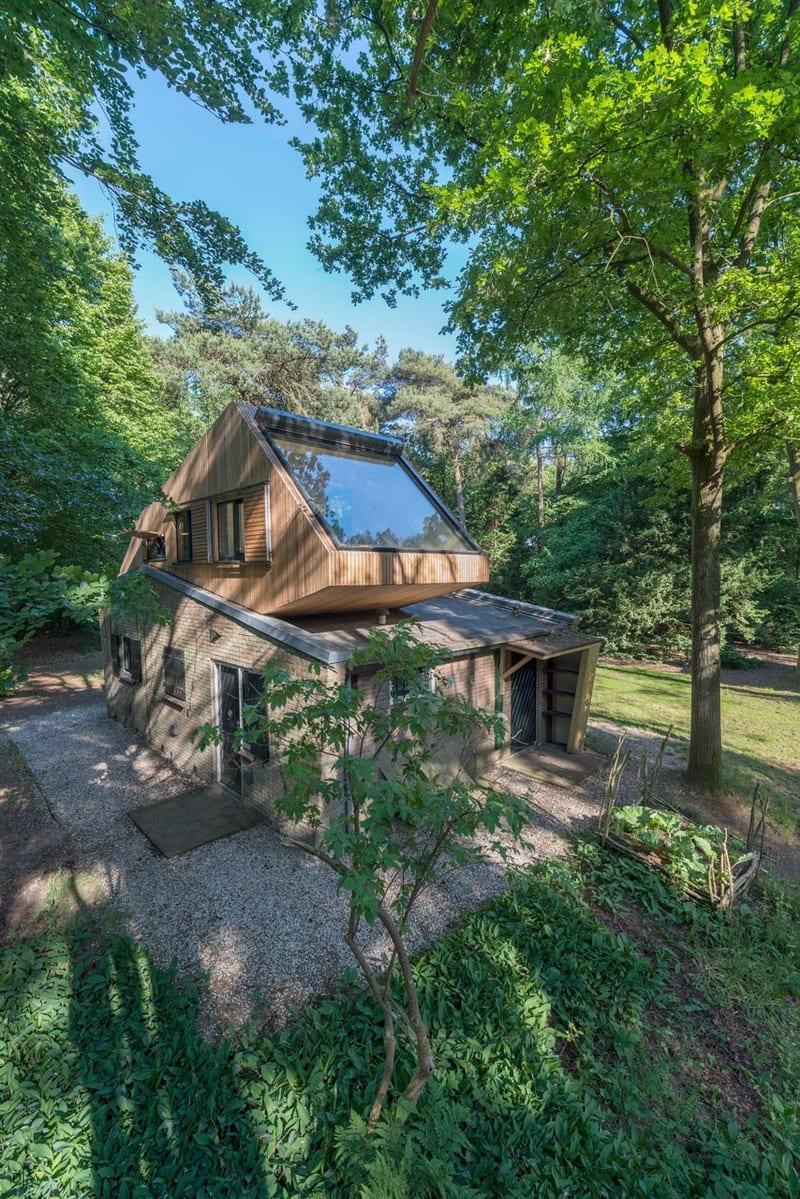 خانه ای برای تعطیلات به سبک خانه های درختی