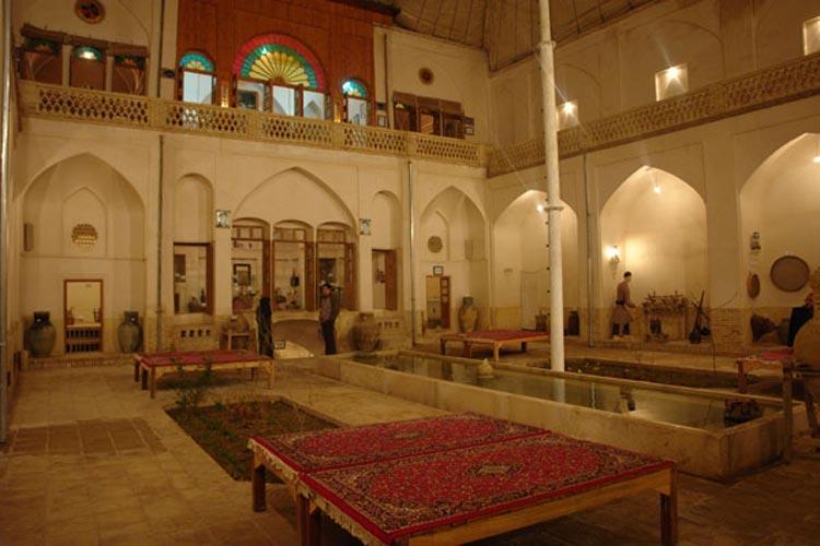 خانه تاریخی بهی کاشان ثبت ملی شد