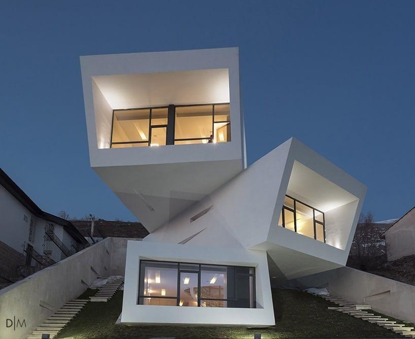 خانه مشا برنده جایزه جامعه معماران آمریکا