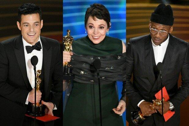 برندگان اسکار بازیگری جایزه می دهند
