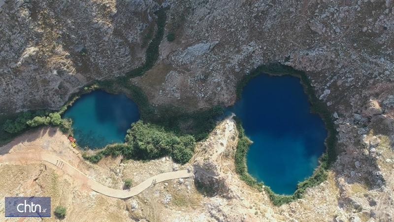 عملیات محوطه سازی دریاچه های دوقلوی ایلام شروع می گردد