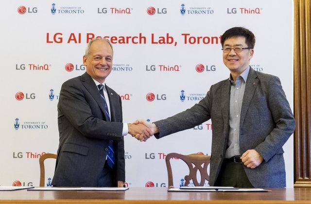 افتتاح آزمایشگاه هوش مصنوعی ال .جی در تورنتو
