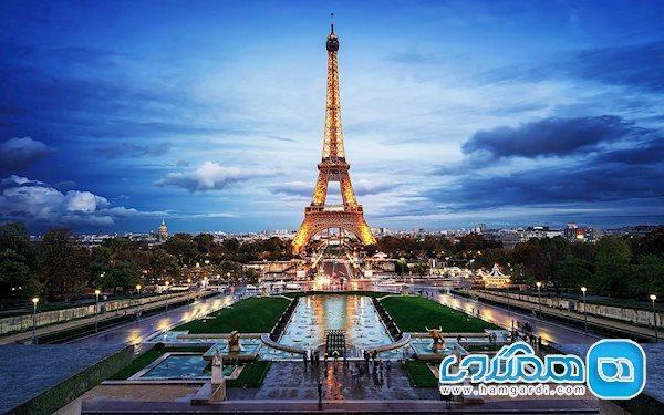 ساختمان برج ایفل فرانسه ، نمادی از عشق و آهن در پایتخت فرانسه