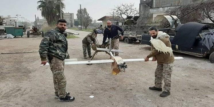 ارتش سوریه 2 پهپاد تروریست ها را در ادلب سرنگون کرد