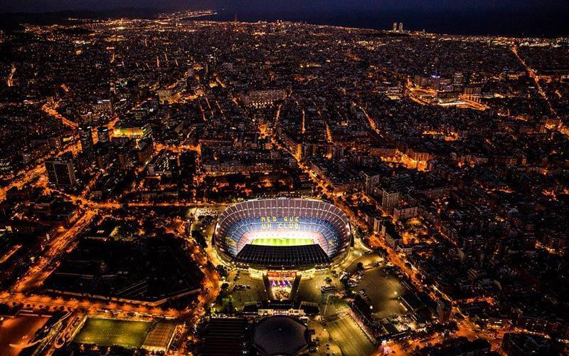 با استادیوم نیوکمپ، خانه اصلی تیم بارسلونا آشنا شوید