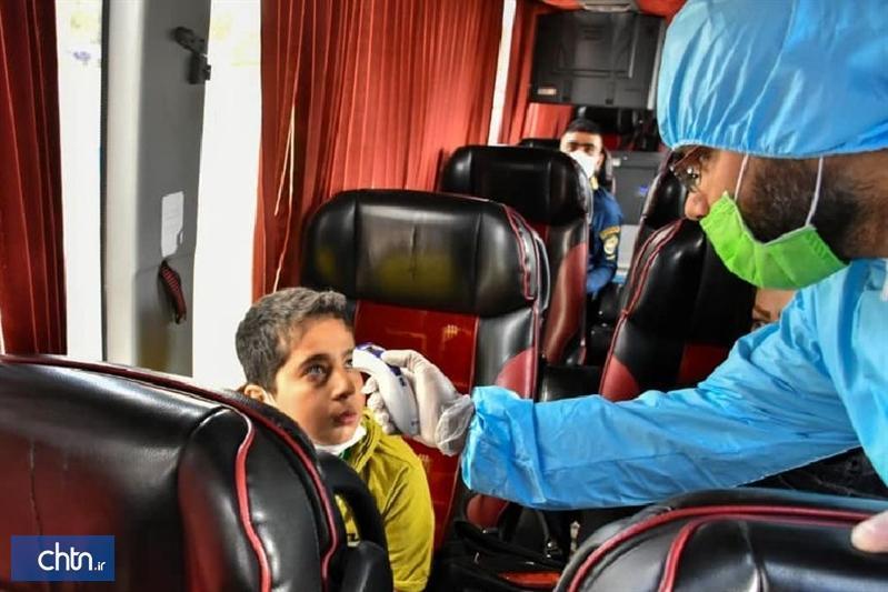 سلامت مسافران ورودی به خراسان شمالی در 6 پست قرنطینه کنترل می شود