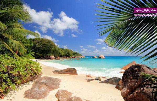زیباترین و رنگین ترین سواحل جهان