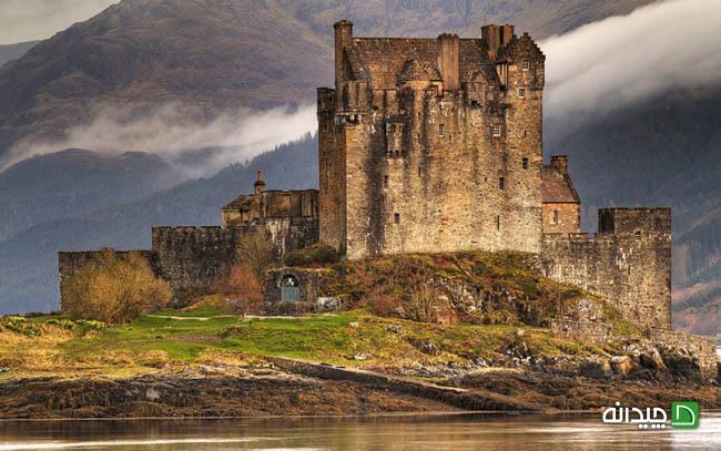 سفر در تاریخ با معروف ترین قلعه اسکاتلند، عکس
