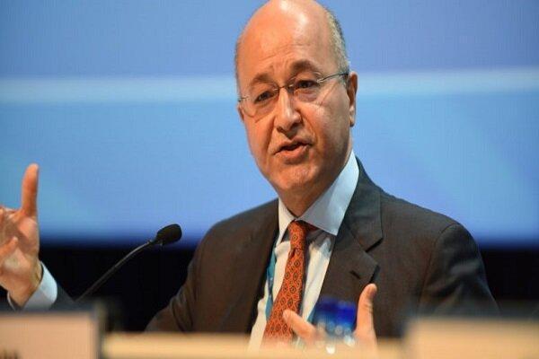 برهم صالح بر تشکیل کابینه ای متشکل از افراد شایسته تأکید کرد