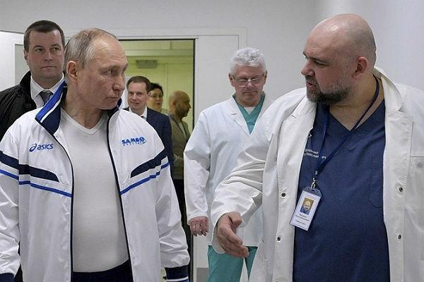 پوتین خواهان رسیدگی فوری به شرایط اقتصادی کادر درمانی روسیه شد
