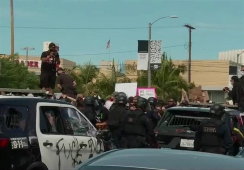 اعلام منع آمد وشد در 6 شهر آمریکا