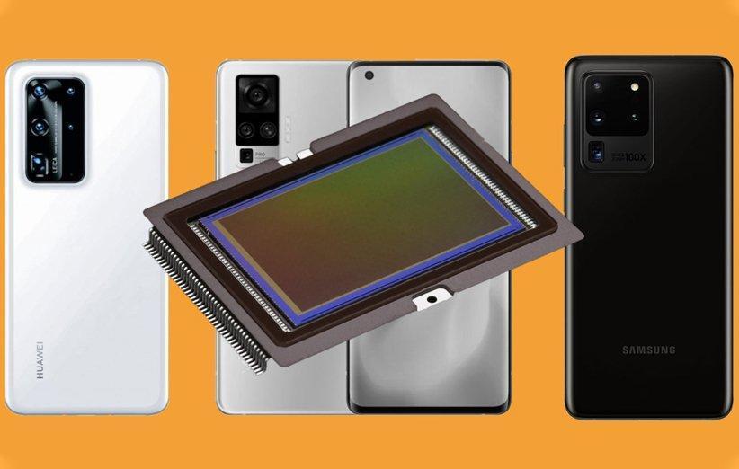 تنور رقابت بر سر اندازه سنسور دوربین گوشی های هوشمند داغ شده است