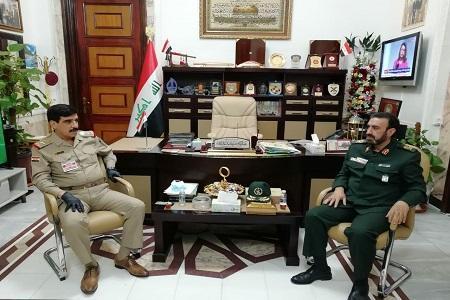 تاکید ایران و عراق بر گسترش همکاری های نظامی