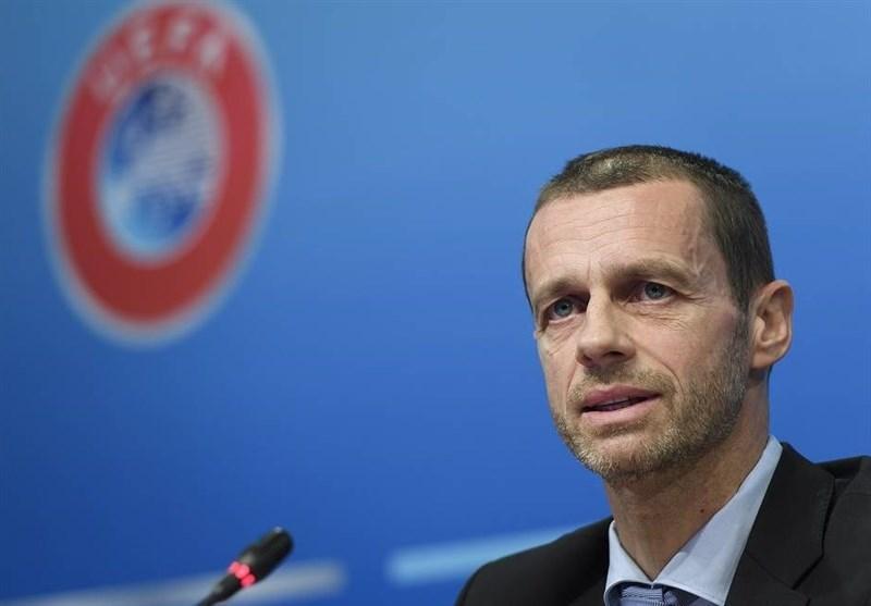چفرین: می خواهیم برای ادامه بازی های لیگ قهرمانان طرفداران را به به استادیوم ها برگردانیم