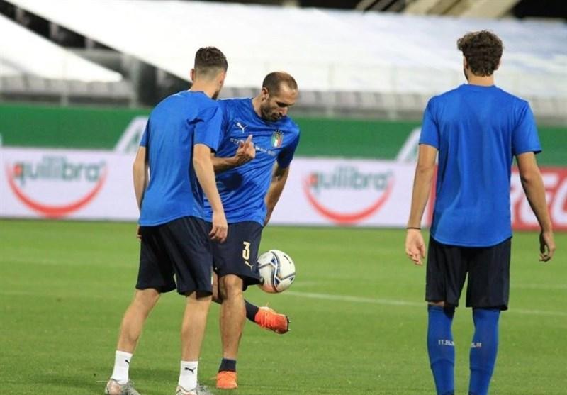 اشتباه عجیب ایتالیایی ها در اولین بازی شان در لیگ ملت های اروپا، کیه لینی قربانی شد!
