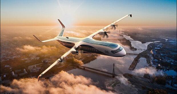 تصاویر طرح اولیه از بزرگترین هواپیمای هیبریدی دنیا