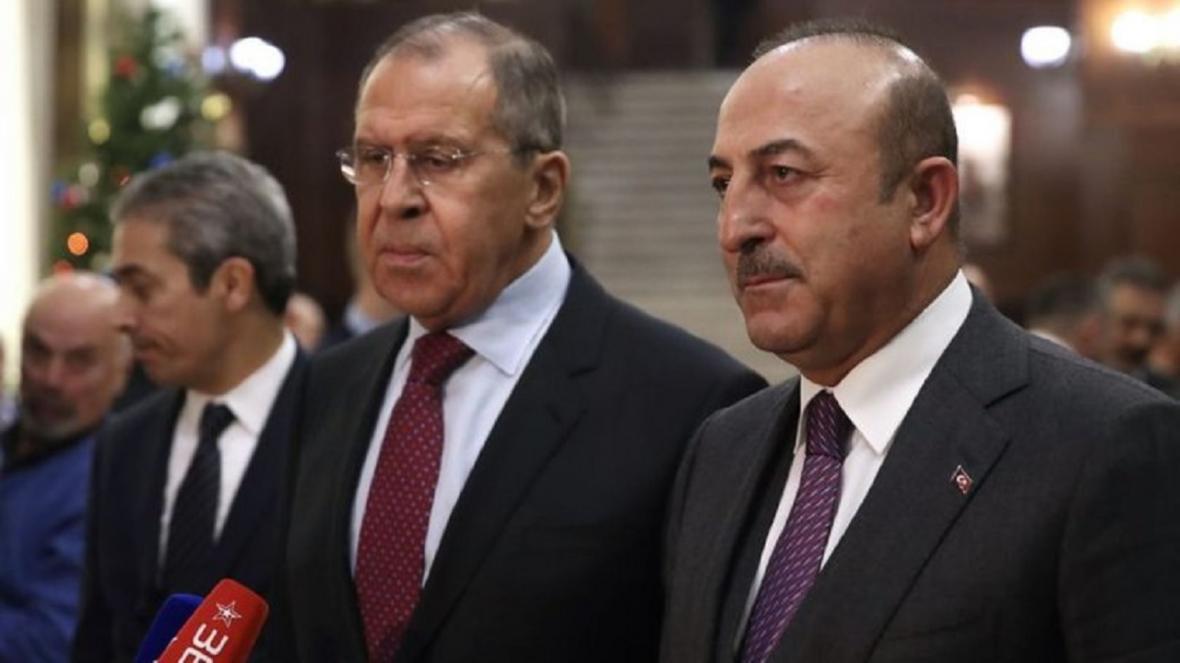 گفت وگوی تلفنی وزرای خارجه روسیه و ترکیه درباره قره باغ