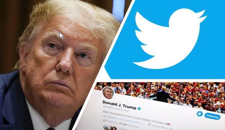واکنش توییتر به پیغام کاربرانی که آرزوی مرگ ترامپ را دارند