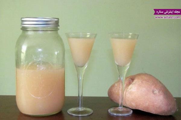 خواص آب سیب زمینی و فوایدی که برای درمان بیماریها دارد