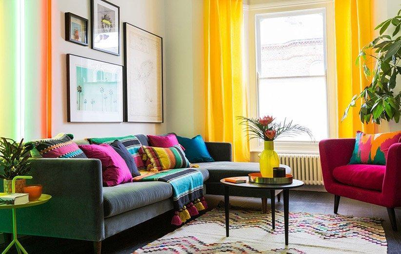 5 قدم برای داشتن یک خانه شاد و رنگارنگ