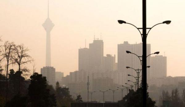 هشدار هواشناسی نسبت به آلودگی هوای تهران و 5 شهر دیگر