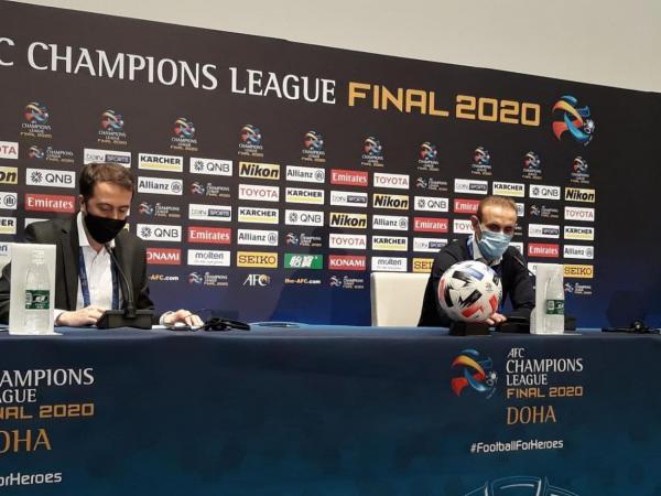 گل محمدی: بازیکنانم با تمام وجود بازی کردند و قهرمان واقعی هستند، از تمام هواداران عذرخواهی می کنم