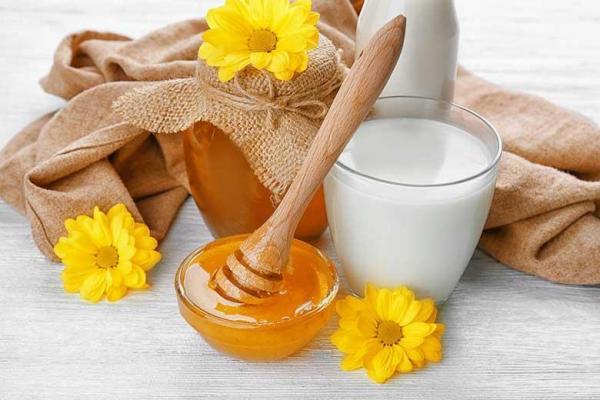 آشنایی با فواید ترکیب شیر و عسل