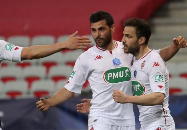 جام حذفی فرانسه، صعود موناکو به مرحله یک هشتم نهایی از خانه نیس