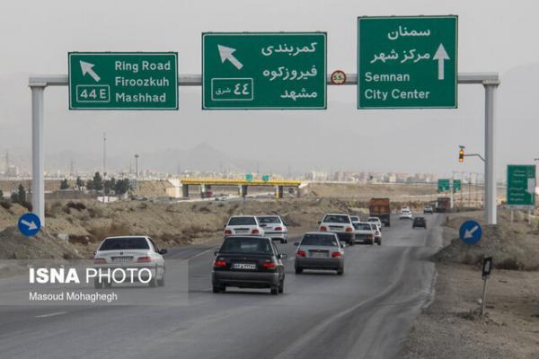 ترافیک روان در جاده های کشور، ادامه محدودیت تردد در شهرهای قرمز و نارنجی