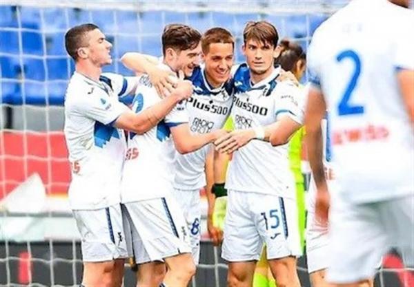 سری A، آتالانتا با پیروزی خارج از خانه سهمیه لیگ قهرمانان اروپا گرفت
