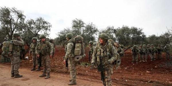 حمله ارتش ترکیه به شهر تل رفعت در شمال سوریه