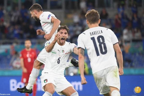 (ویدیو) خلاصه بازی ترکیه 0 - 3 ایتالیا؛ اولین برد یورو 2020 برای آتزوری